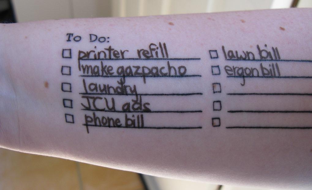 Things To Do: как правильно вести список дел