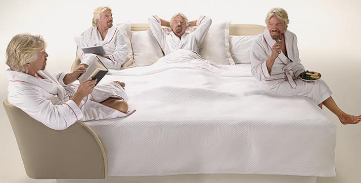 Рецепт успеха от Ричарда Брэнсона: «Спите больше!»
