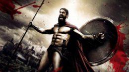 """Сцена из фильма """"300 спартанцев"""""""