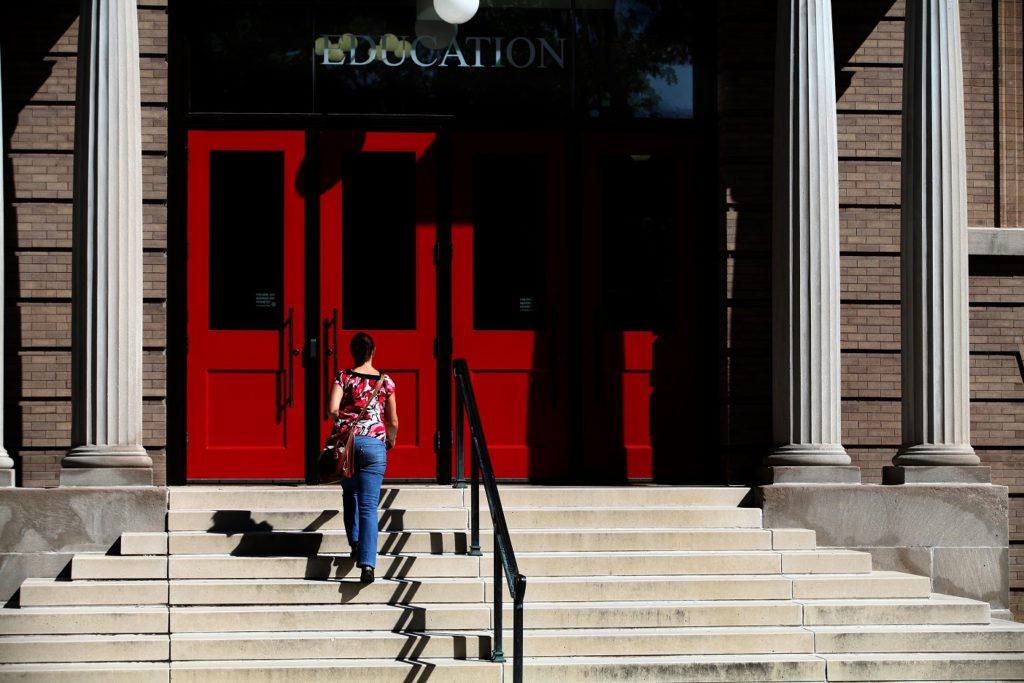 Одно из зданий Висконсинского университета. Фото: Elena Shirikova