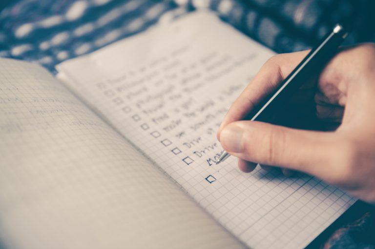 Правило 1-3-5 – отличный способ вести список дел